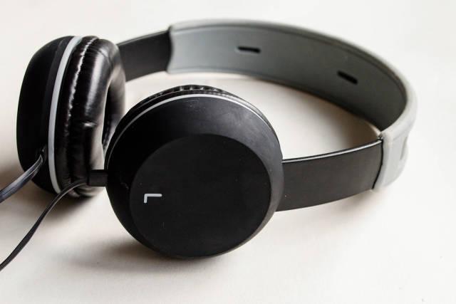 Big Headphones, close up