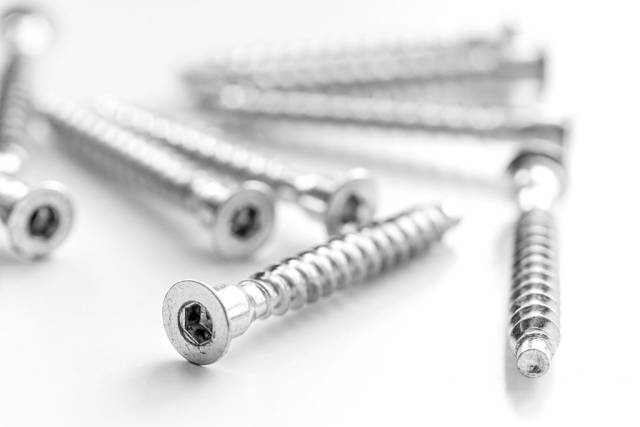 Confirmation screws, furniture fittings