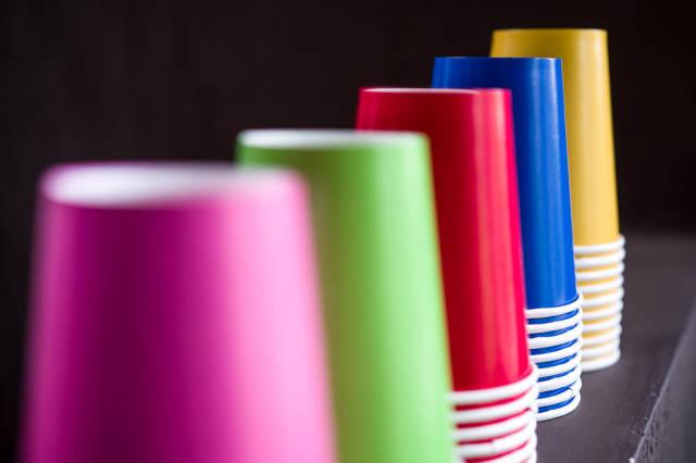 Birthday cups