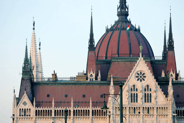 Budapest Palace of Parliament, architectural details