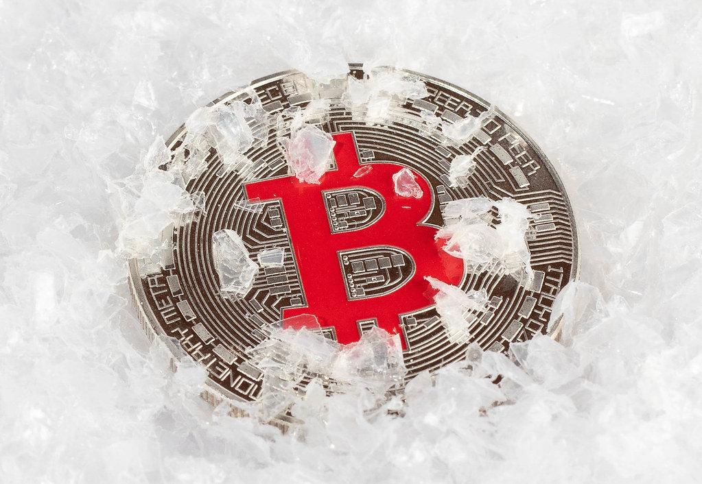 Frozen Bitcoin
