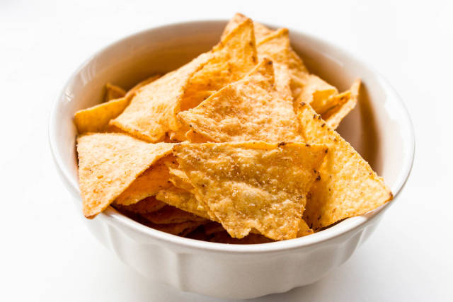Tortilla Cheese Chips