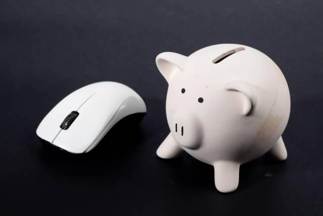 Computer mouse Piggy bank