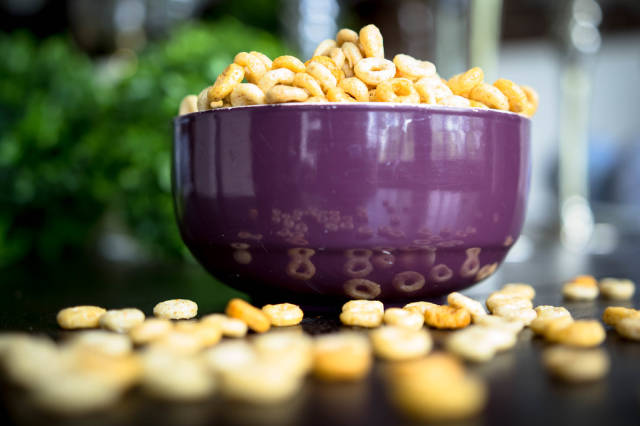 Bowl full of cheerios