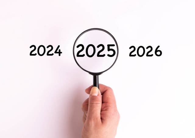 2025 under magnifying glass