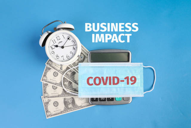 Covid-19 Business Impact concept