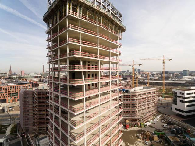 Baustelle Hamburg-Hafencity