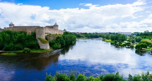 Ivangorod Fortress / Ivangorod Festung