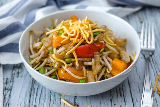Asian Vegetables Stir Fry
