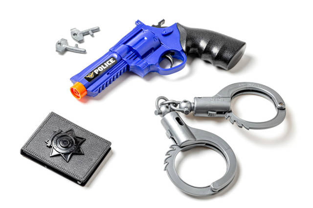 Childrens set of police accessories