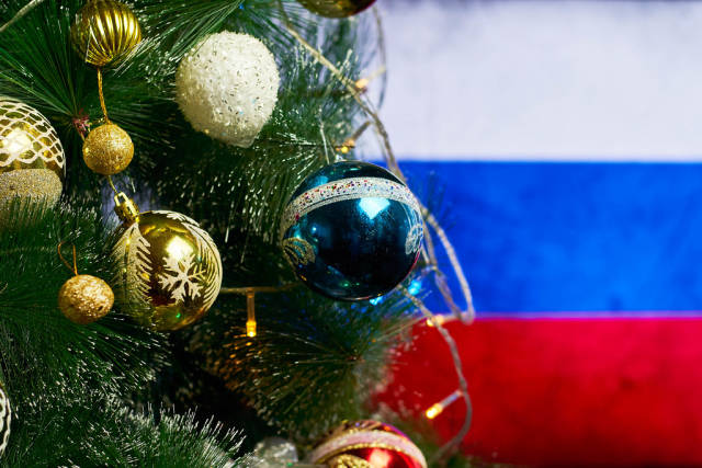 Christmas holidays and New year in the Russian Federation