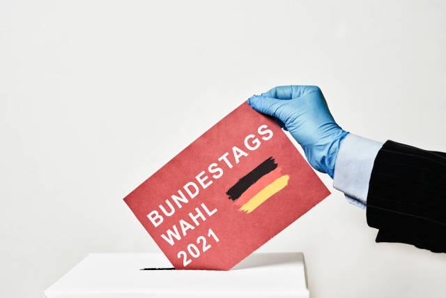 Teilnahme an der Bundestagswahl 2021 in neuen Realitn