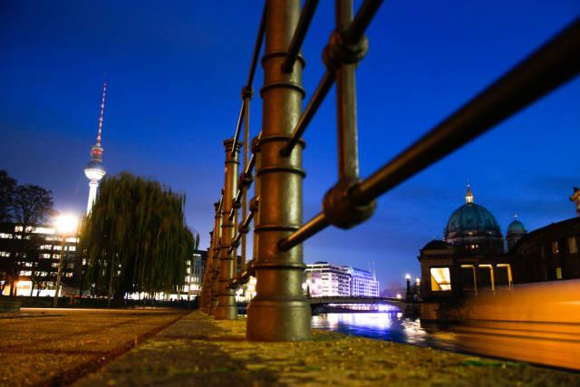 Berlin Mitte at night