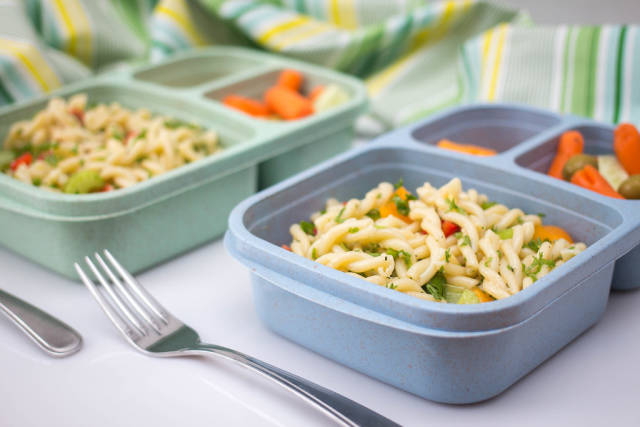 Bentox Lunch Box with Pasta Salad