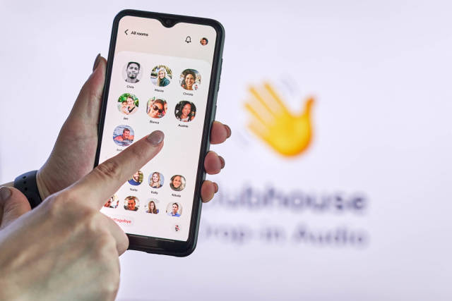 Clubhouse - wildly popular audio chat app