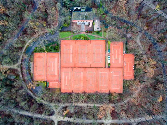 Luftbild: Tennisclub Lese Grün-Weiß 1927 e.V.