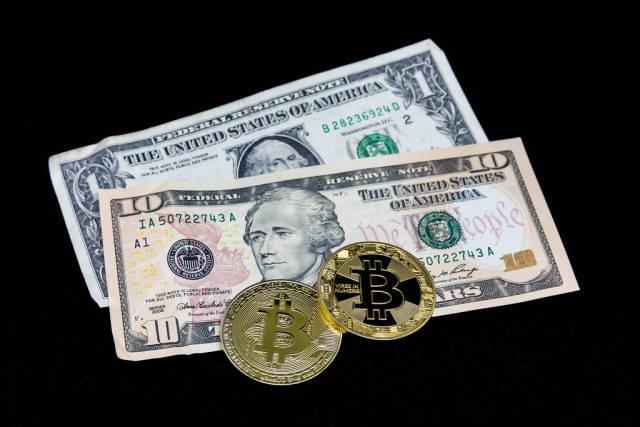 FIAT-Geld und Bitcoins