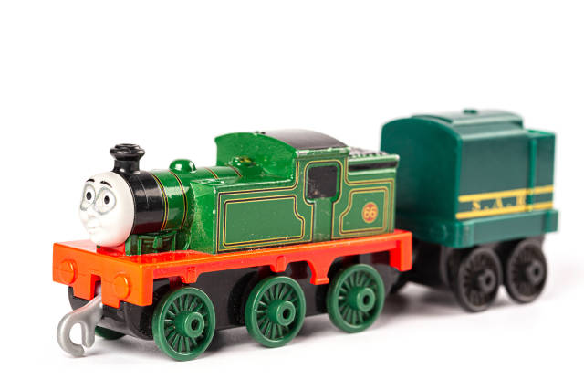 Green toy train whiff from thomas and friends