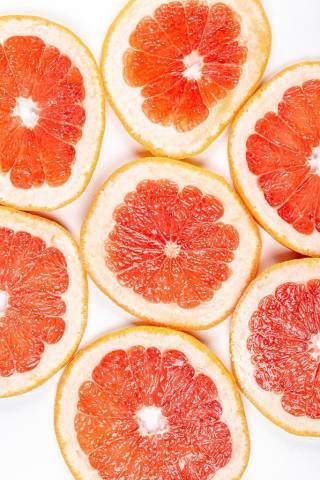 Grapefruitscheiben