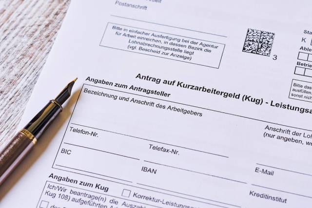 Antrag Arbeitsamt auf Kurzarbeit (KUG) einreichen