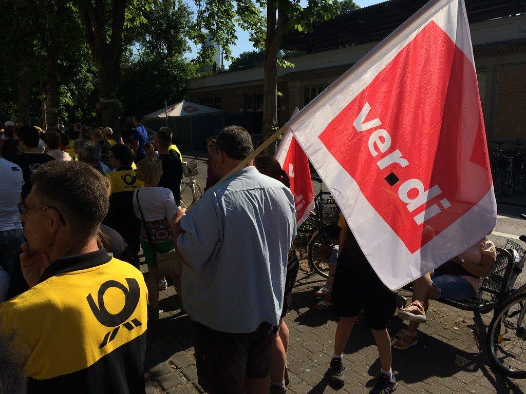 Post-Streik in Köln vor Ver.di