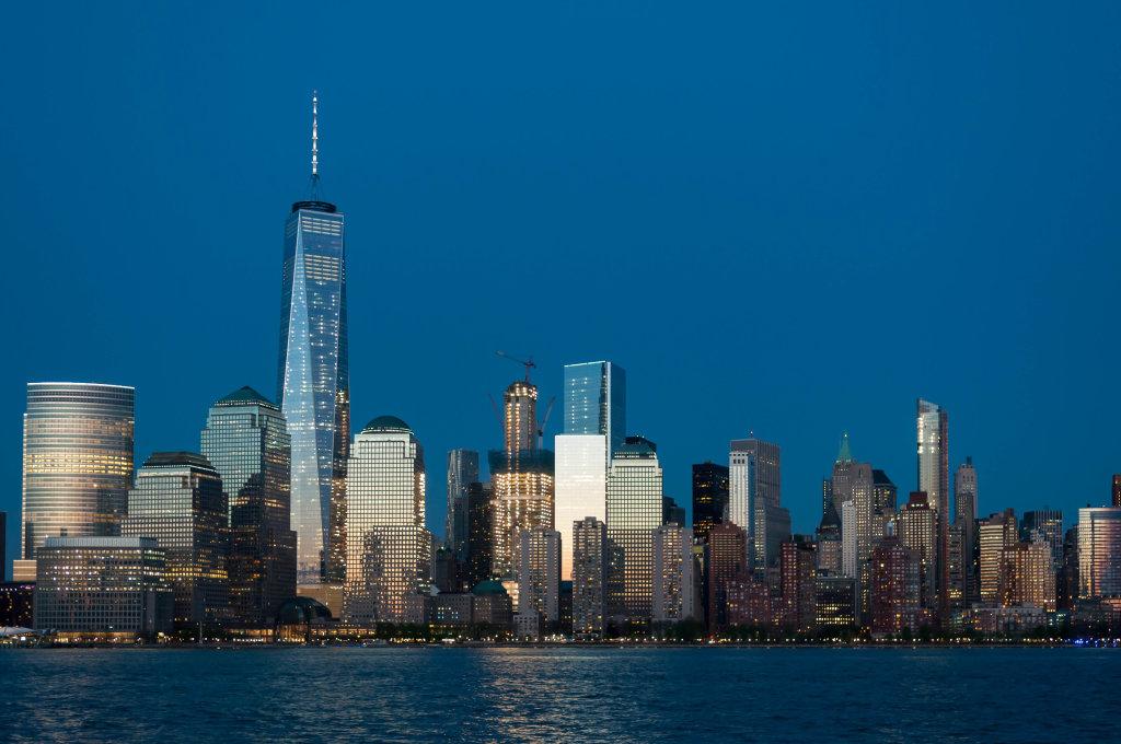 New York City Blue Hour