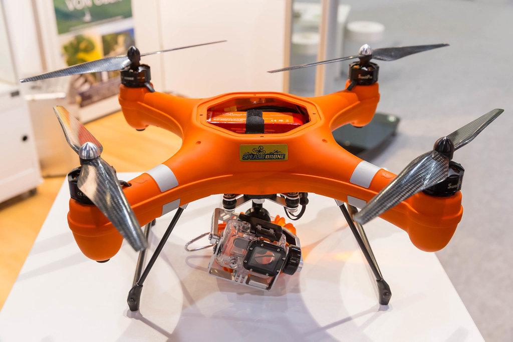 Wasserdichte Drohne Splash Drone von Swellpro