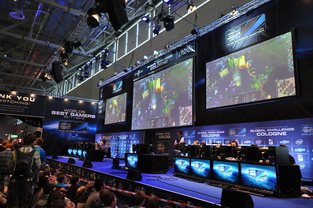 Gamescom 2011: Starcraft 3 Show Match