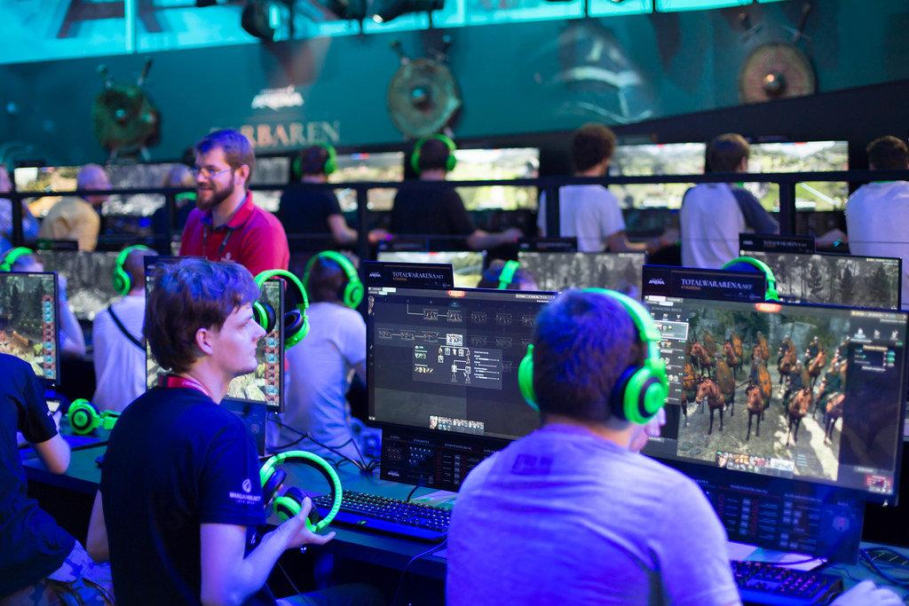 Gamer spielen Total War Arena