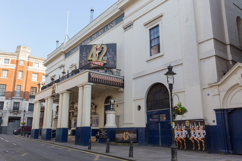 42nd Street im Theatre Royal Drury Lane