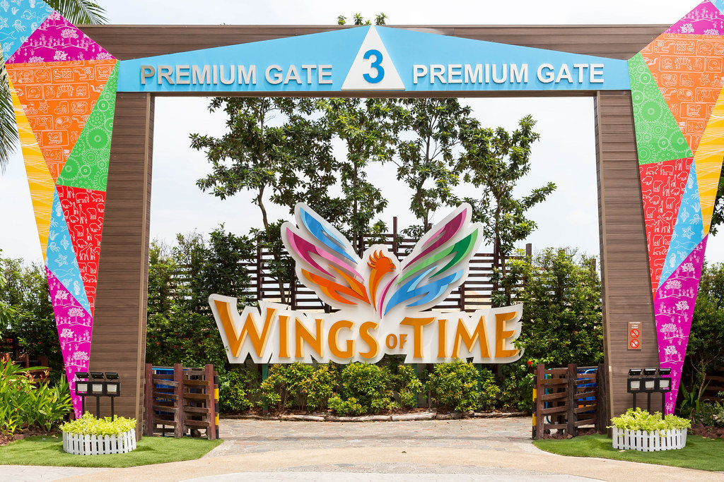 Sentosa Island: Gate 3 Wings of Time