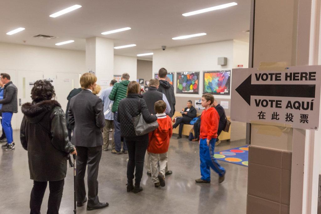 Public School 59: Polling Place of Trump