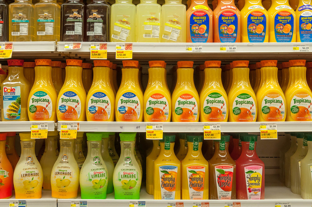 Orange Juice at Whole Foods Market