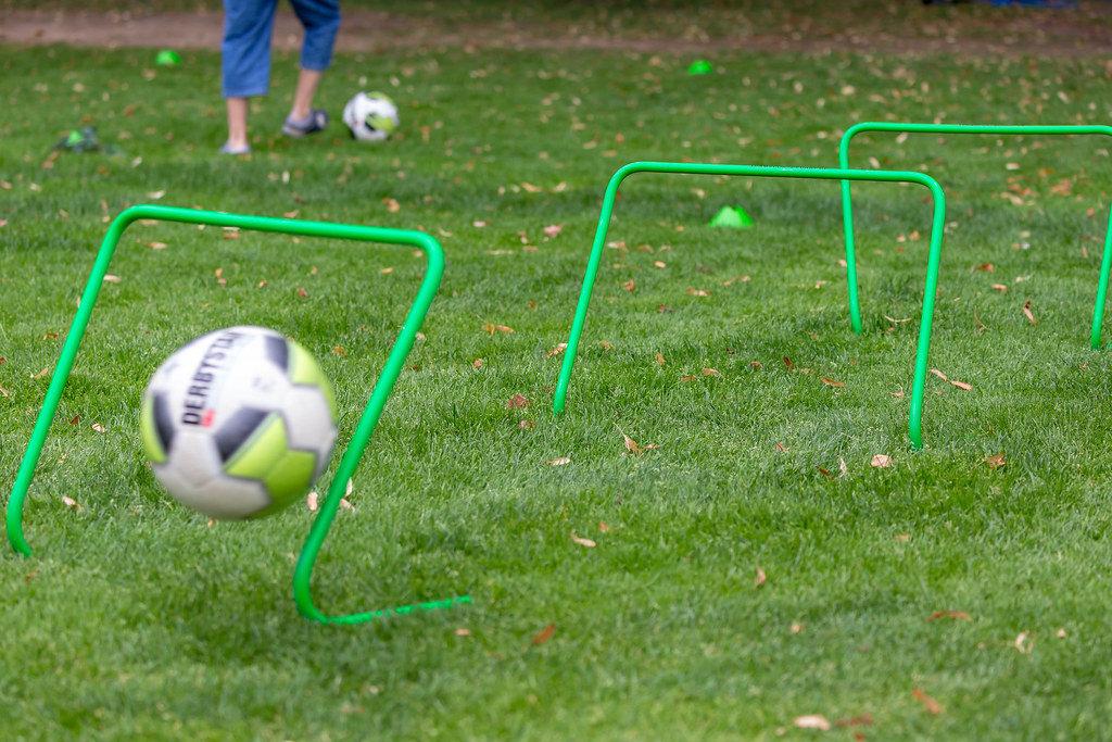 Fußballgolf Spielplatz