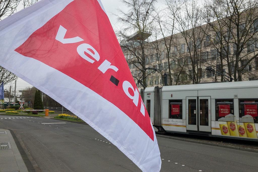 Verdi-Streik legt KVB lahm