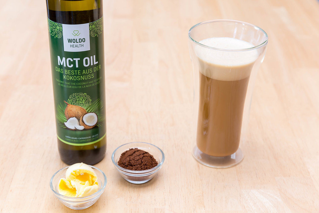 Bulletproof Coffee with MCT Oil and Butter