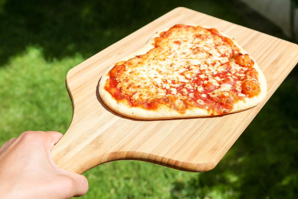 Pizza on Valentine's Day