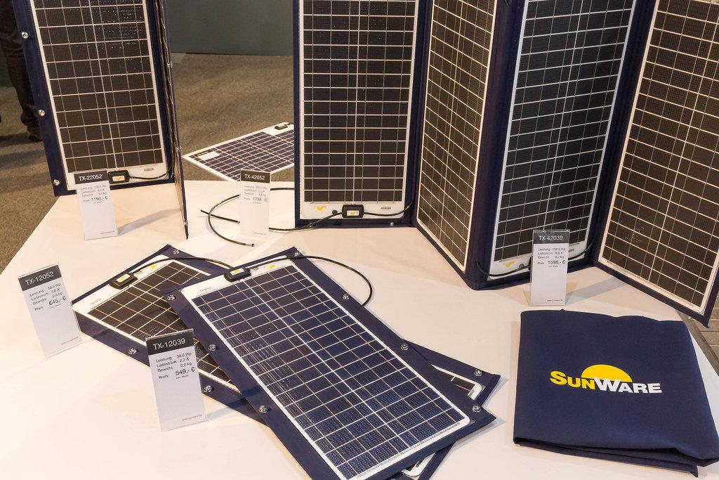 Sunware Solarzellen für Schiffe