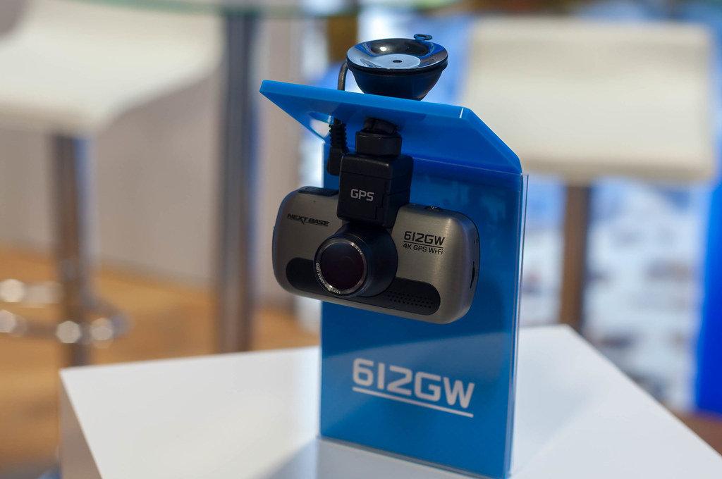 Dash Cam mit 4K, GPS und WiFi. Nextbase 612GW