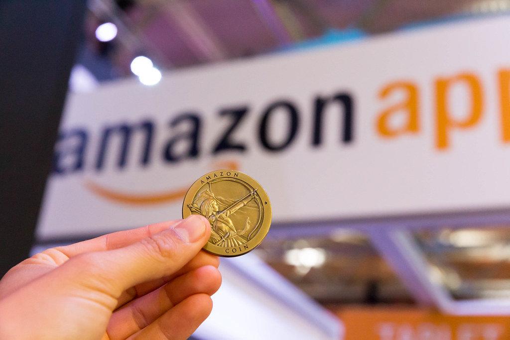 Amazon Coin - Gamescom 2017, Köln