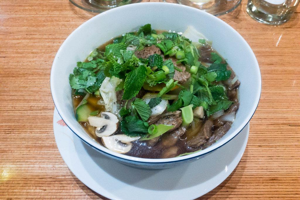 Vegane Pho-Suppe