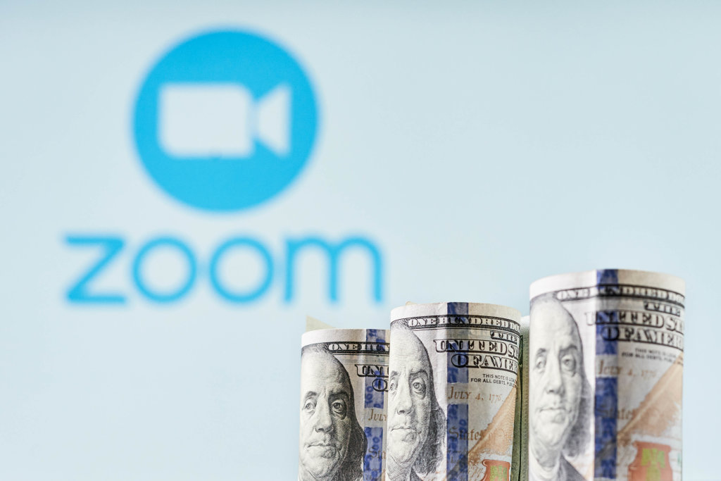 Zoom Video Communications Inc. stock falls