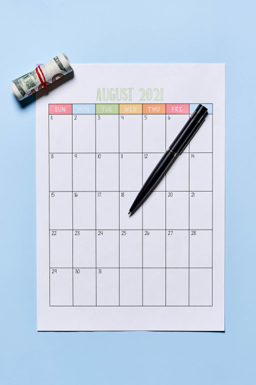Planning summer vacation in August
