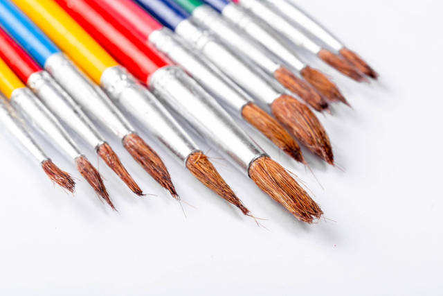 A set of different brushes for drawing