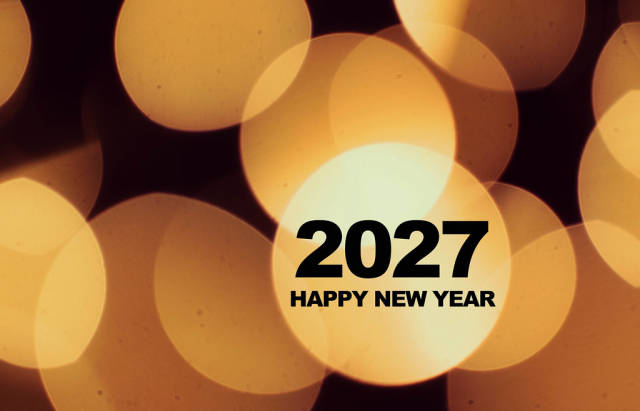 Happy New Year 2027