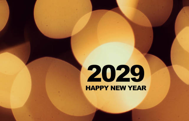 Happy New Year 2029