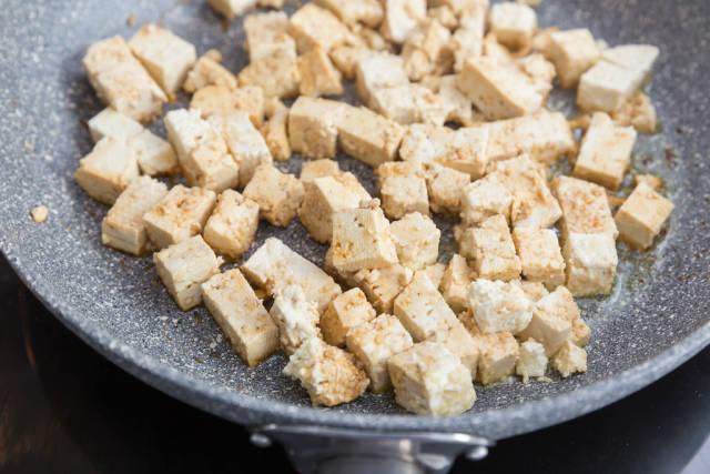 Tofu with Sesame