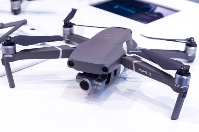 DJI Mavic 2 Zoom Drohne auf der IFA Berlin 2108