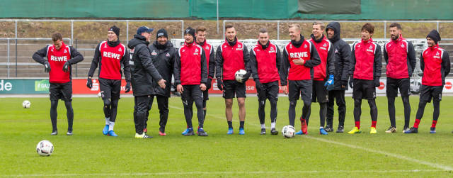 Training 1. FC Köln am 25.01.2017