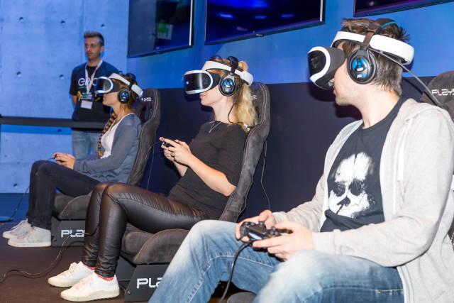 Virtual Reality mit Playstation VR